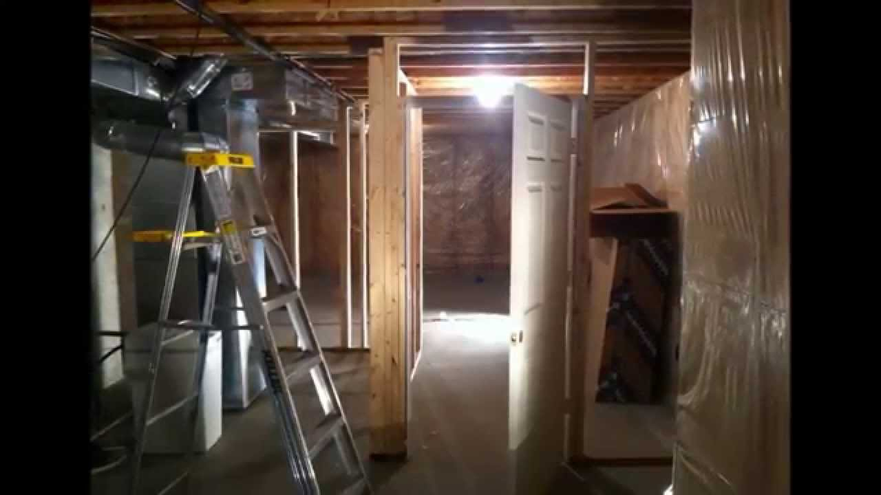 DIY Basement Remodel. Home Theater Install.   YouTube