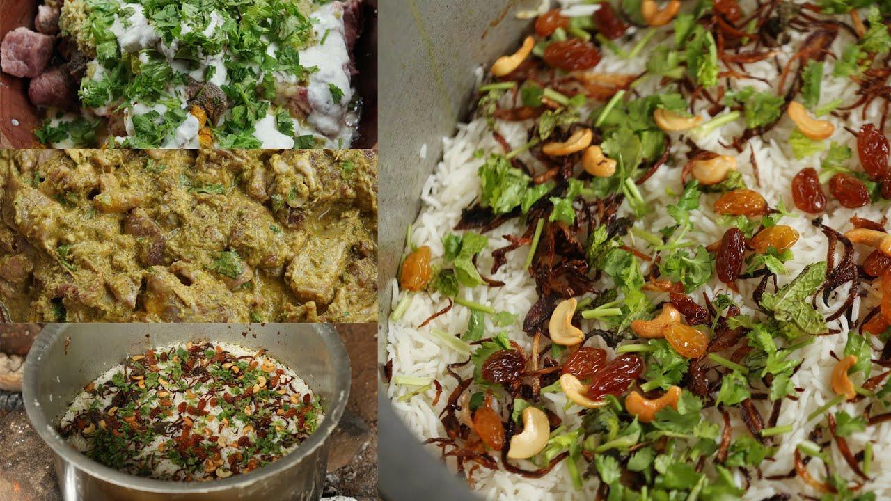 അടിപൊളി രുചിയിൽ  മട്ടൻ ബിരിയാണി ഉണ്ടാക്കിയാലോ | Kerala Mutton Dum Biriyani Recipe - Mutton Biryani