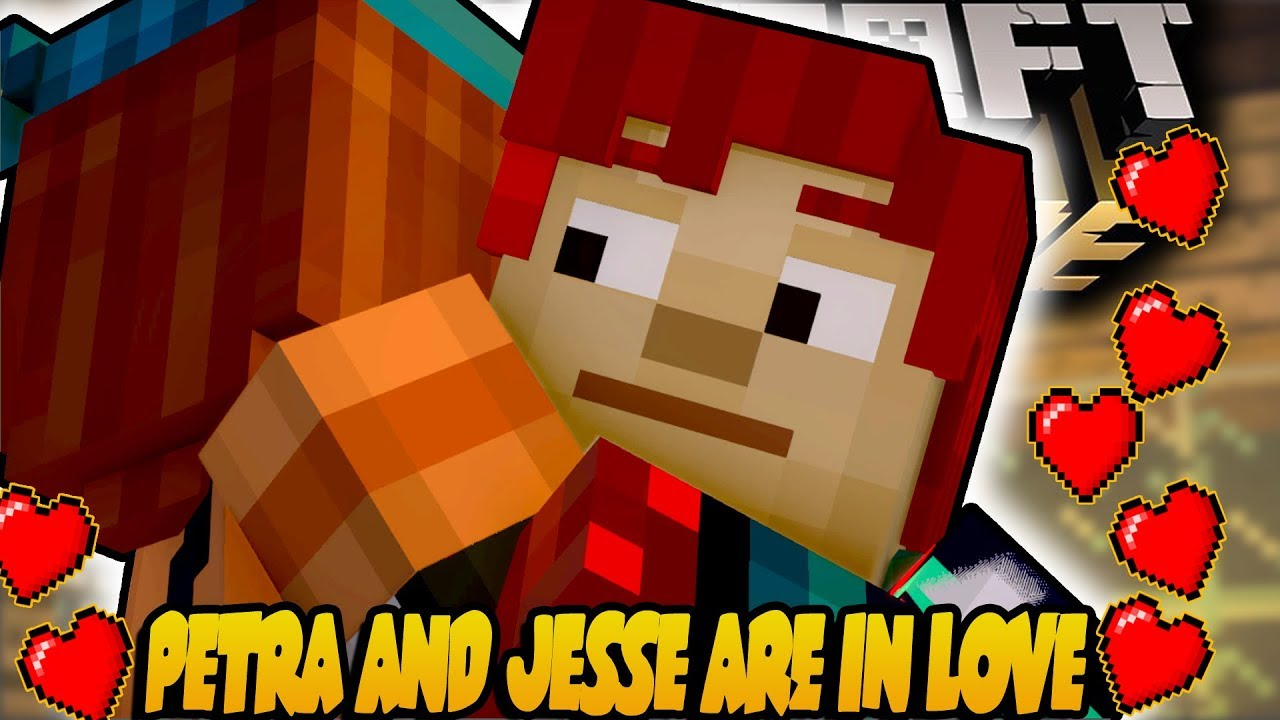 Petra And Admin Jesse Are In Love Minecraft Story Mode