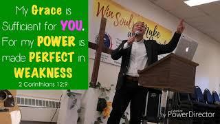 Ptr.Jay preaches on Breaking Free in Weakness