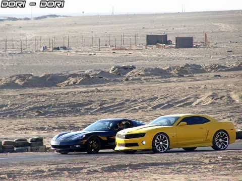 Chevrolet Camaro Ss 2010 Vs Corvette C6 2011 Youtube