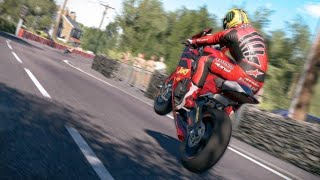 Ride 3 | XBox One X Enhanced Gameplay | Isle Of Man Race | Crash on Last Lap