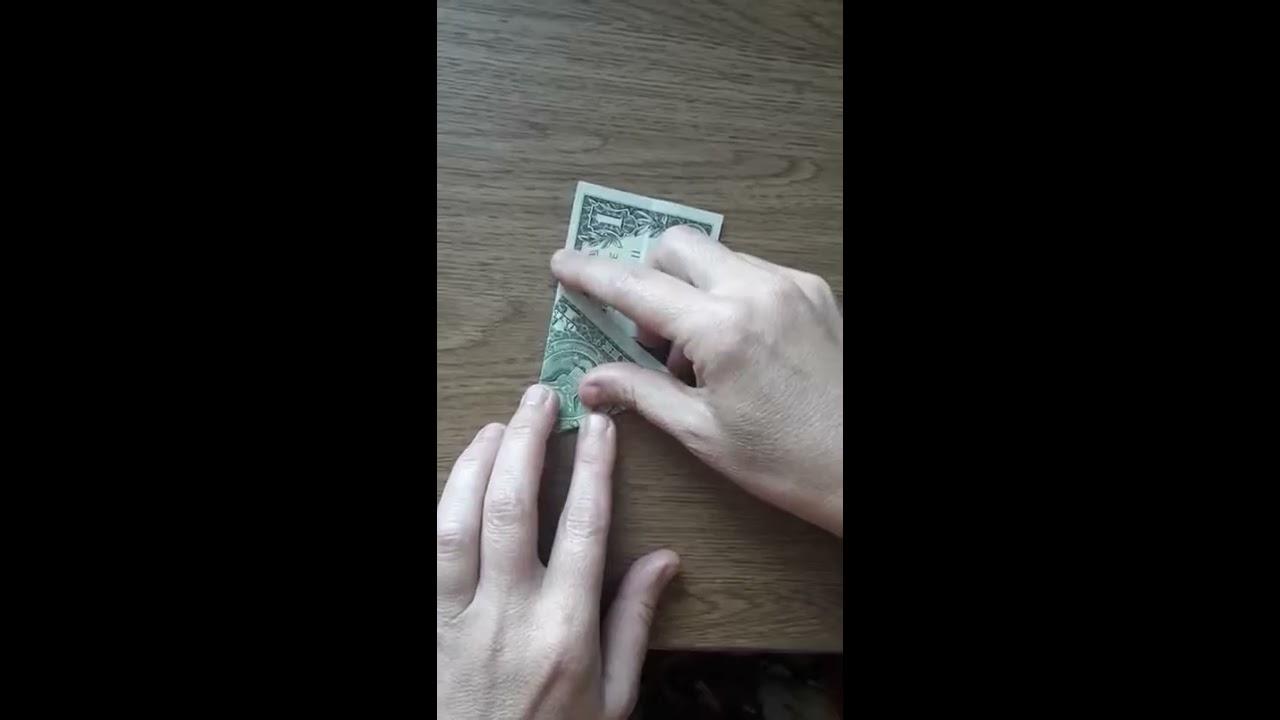 Доллар из купюр своими руками фото 889