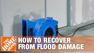 How to Recover from Flood Damage - The Home Depot