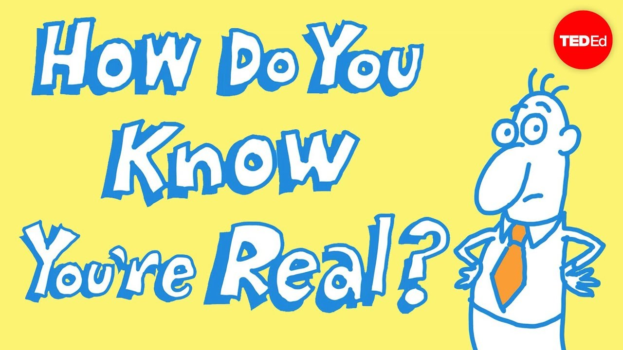 How do you know you exist? - James Zucker - YouTube