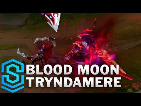 Blood Moon Tryndamere Skin Spotlight - League of Legends