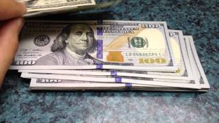 5000 worth of star notes all 100 bills rare us currency