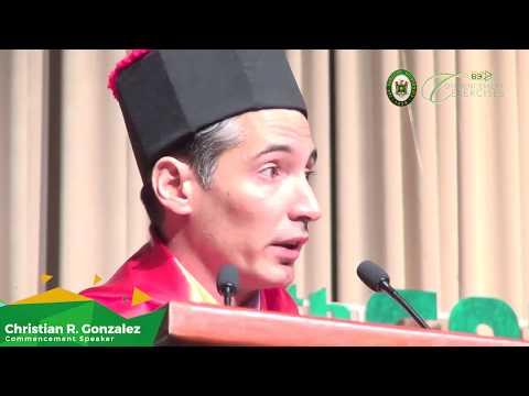 FEU 89th Commencement Exercises Address: Christian R. Gonzalez