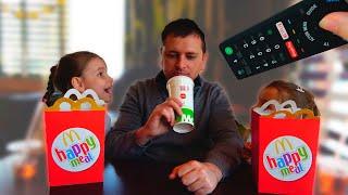 Папа и девочки - веселые истории для детей