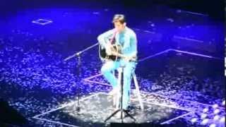 彩虹 & 轨迹 & 牛仔很忙 & 星晴 & 回到过去 周杰倫魔天伦世界巡回演唱会香港站13 09 13
