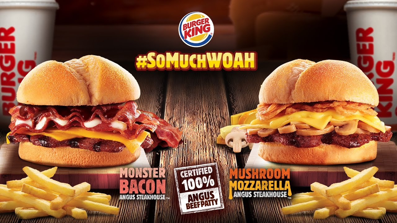 Burger King Angus Steakhouse Collection