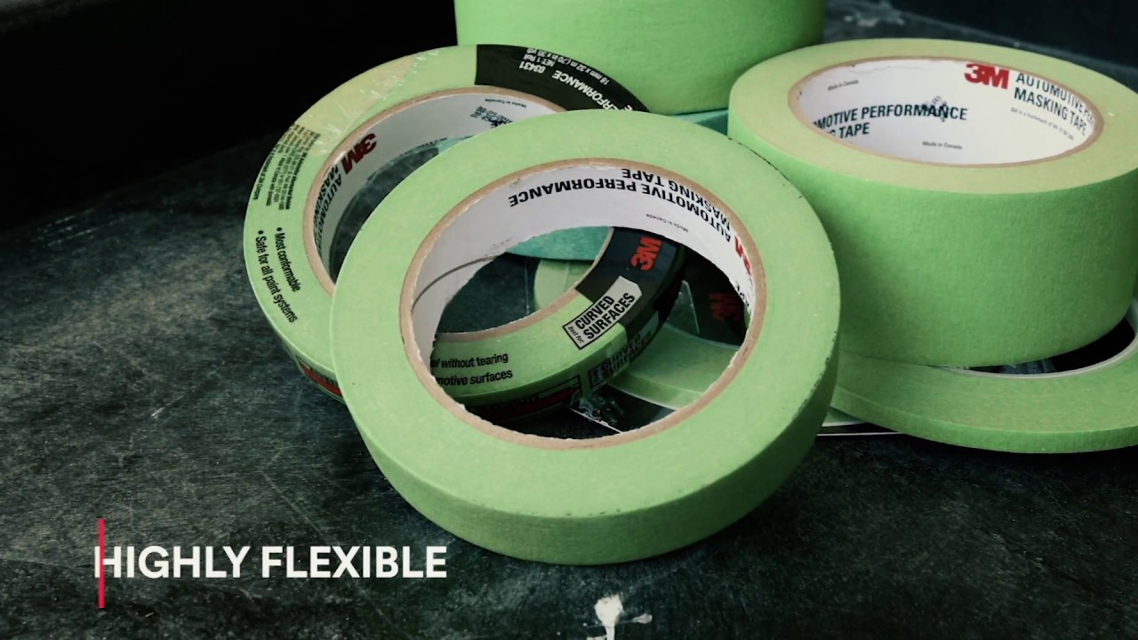 Work Like a Pro with 3M Automotive Performance Masking Tapes