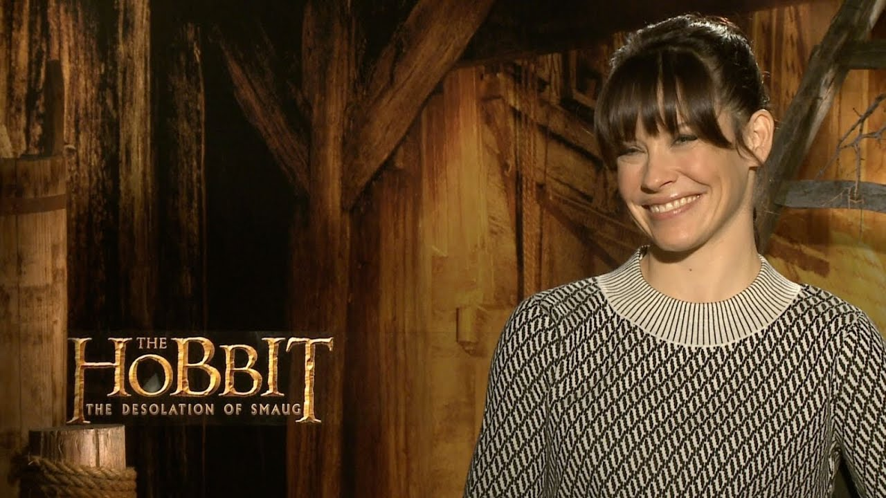 the as Evangeline lilly hobbit tauriel
