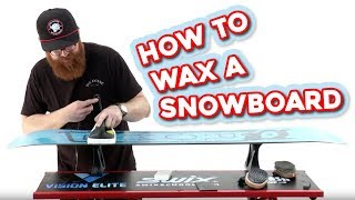 How to Wax a Snowboard | The-House.com