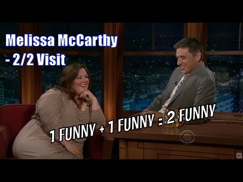 Thumbnail: Melissa McCarthy - She Wants A Kiss From Geoff - 2/2 Visits In Chronological Order [720]