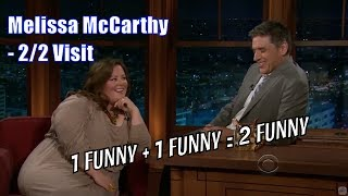 Melissa McCarthy - She Wants A Kiss From Geoff - 2/2 Visits In Chronological Order [720]