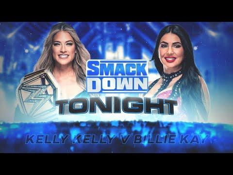 WWE 2K20 Universe Mode  - SDL - Kelly Kelly v Billie Kay - A new opponent arises for Kelly Kelly