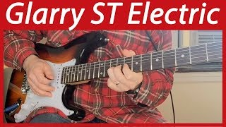 Can a Cheap Guitar Be Any Good? | Glarry ST Electric Guitar Full Review