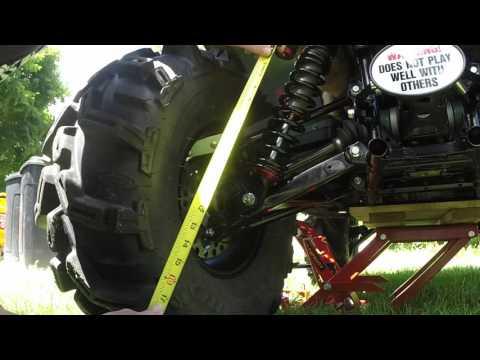 ATV Shock PRELOAD EXPLAINED
