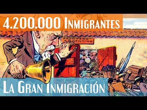 ¿4.200.000 En Casi 30 Años? La Gran Inmigración En Argentina (1880 A 1914)