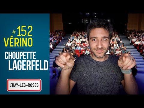 Lagerfeld, Choupette et Y tréma. VERINO #152