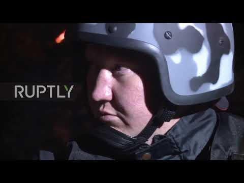Russia: Protesters rally against construction of church in Yekaterinburg