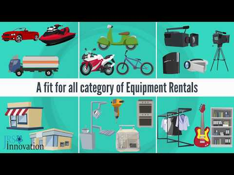 Equipment Rental Management App -  Secure Digital Platform