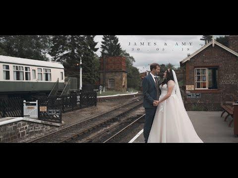 James ❤ Amy • Pickering Train Station, Pickering • Mallyan Spout, Goathland • May 2019