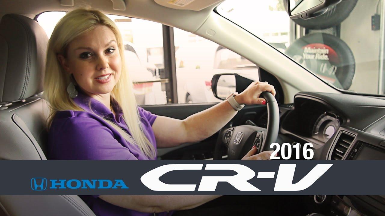 2016 Honda CR-V review - University Honda, Corvallis OR. - YouTube