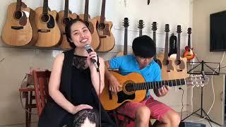 CÔ ĐÔI THƯỢNG NGÀN - Hát Văn Guitar Đệm Cực Hay || Trang Đặng