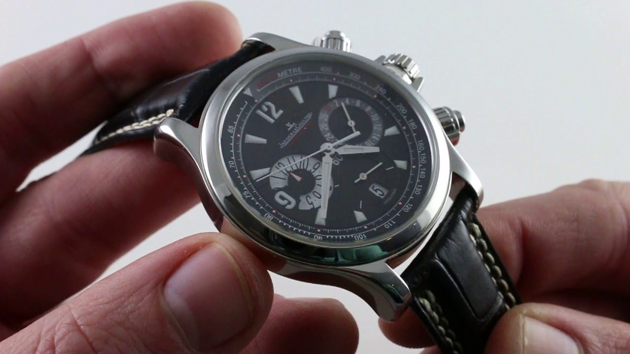 Pre-Owned Jaeger-LeCoultre Master Compressor Chronograph Q1758470 Luxury  Watch Review