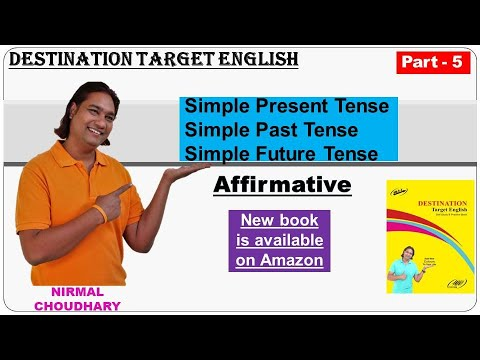Simple Present, Past and Future Tense