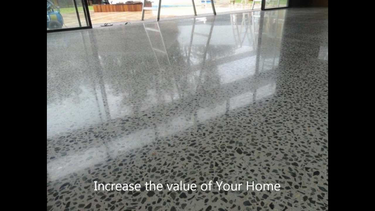 Polished Concrete Flooring and Floors Sydney Canberra South Coast N S W 800  grit finish