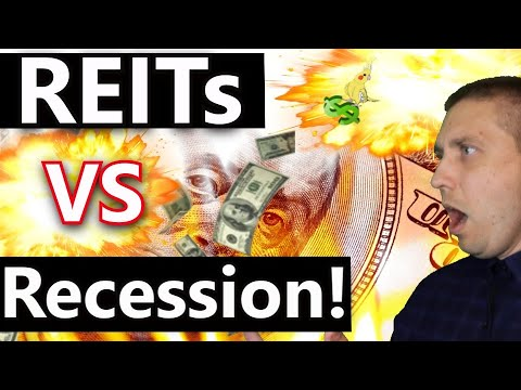 What Happens To REITs In A Recession?😱 (REIT Dividend Investing)