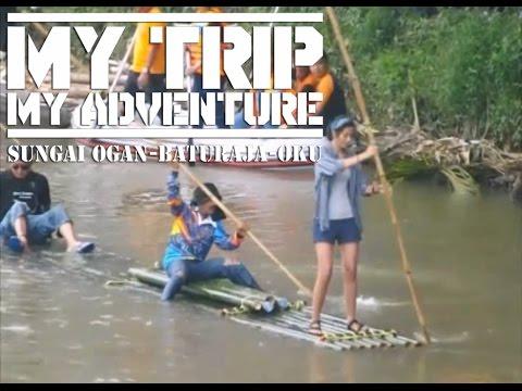 My Trip My Adventure Aksi Di Sungai Ogan Bikin Heboh Warga BATURAJA OKU, Napak Tilas Serunting Sakti