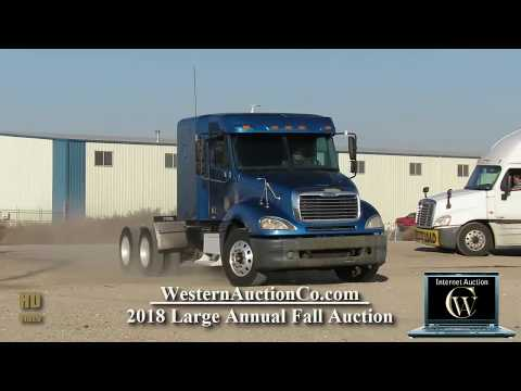 Freightliner Columbia For Sale  At Auction!
