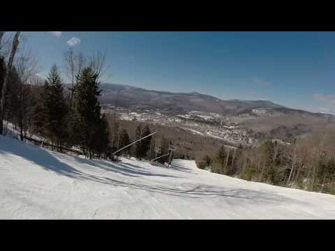 Loon Mountain Ripsaw Trail 3-17-2017