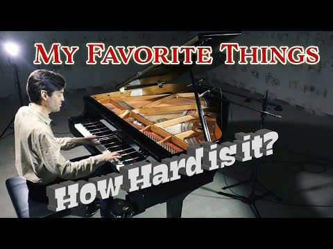 My Favorite Things Insanely Difficult or not? Jazz Piano Cover with Sheet Music by Jacob Koller