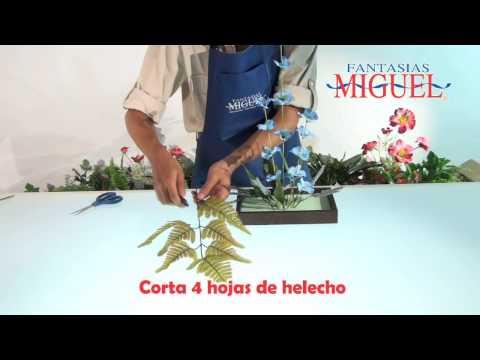 Como Hacer Un Arreglo Floral Minimalista Youtube