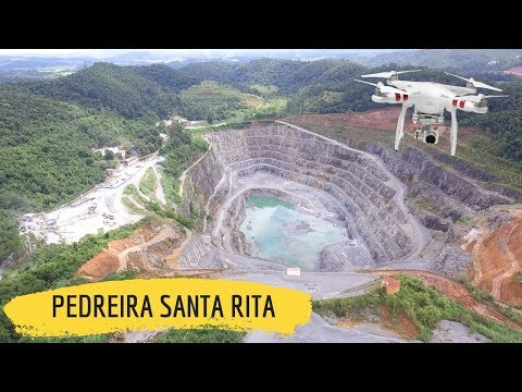 Vôo 34 - DJI PHANTOM 3 STANDARD - Pedreira Santa Rita / SP