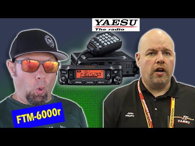 Yaesu FTM-6000r Mobile Ham Radio Discussion with John Kruk, N9UPC, from Yaesu