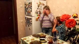 Встреча Мамы с дочерью.Трогательное видео