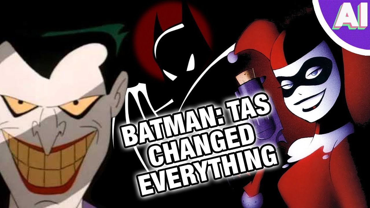 why batman the animated series is the most influential cartoon of