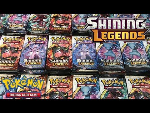 Opening 397 Pokemon Shining Legends Booster Packs!