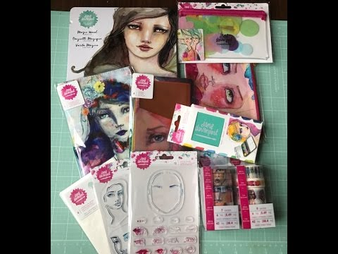 Jane Davenport American Crafts Mixed Media Art Journaling Supplies