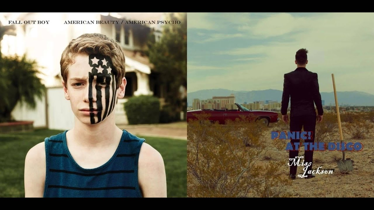 Fall Out Boy Wallpaper Lyrics Fall Out Boy And Panic At The Disco Miss Jackson Twin