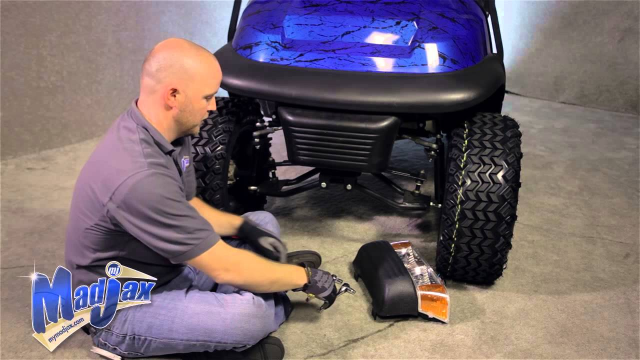 Light Kit for Club Car® Precedent® | How to Install Video | Madjax® Golf Cart Accessories  YouTube