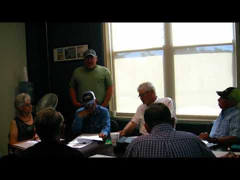 Alfalfa County Commissioners June 11, 2018