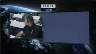 Felix Jumps At 128k feet! Red Bull Stratos   freefall from the edge of space