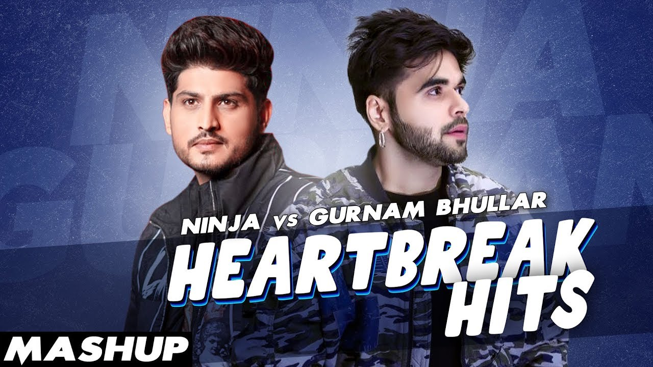 Heartbreak Hits (Mashup) | Gurnam Bhullar | Ninja | Latest Punjabi Songs 2020 | Speed Records